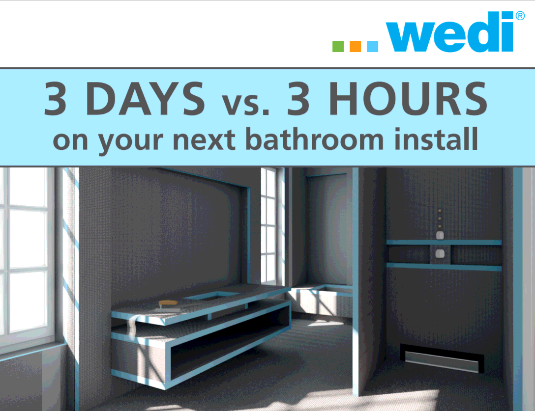 wedi website 3 days v 3 hours